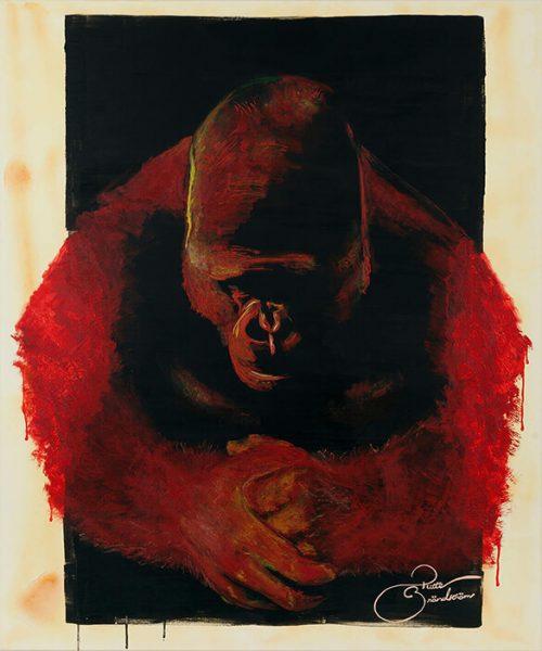 Gorilla, humanity, Africa, broder